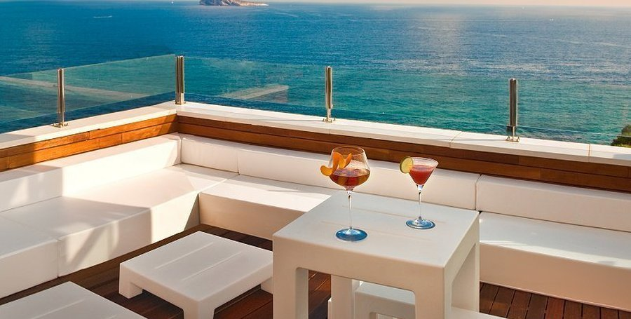 'Sunset Terrace' & Chillout Hôtel Villa Venecia Boutique Benidorm