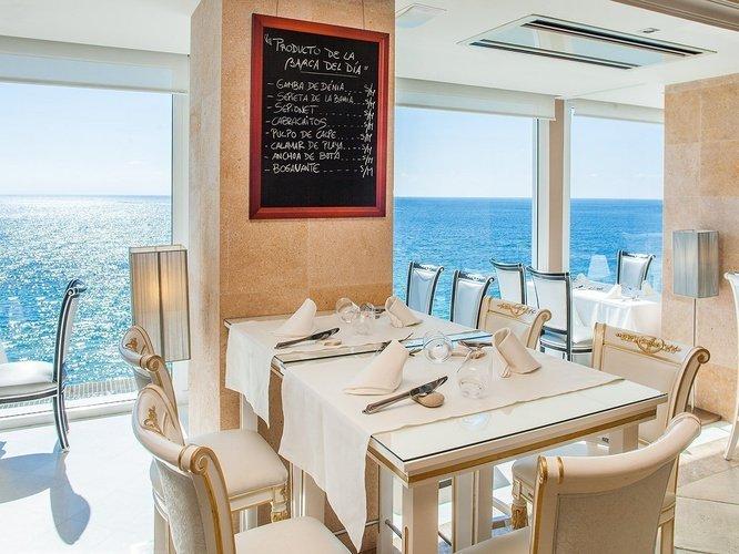Restaurant gourmet lounge 'llum de benidorm' hôtel villa venecia boutique