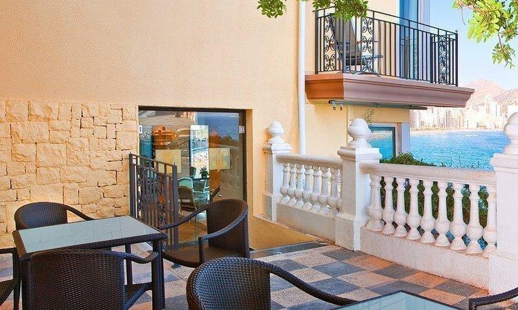 Terrace 'Gourmet' Hôtel Villa Venecia Boutique Benidorm