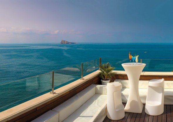 Sunset terrace & chill out hôtel villa venecia boutique benidorm