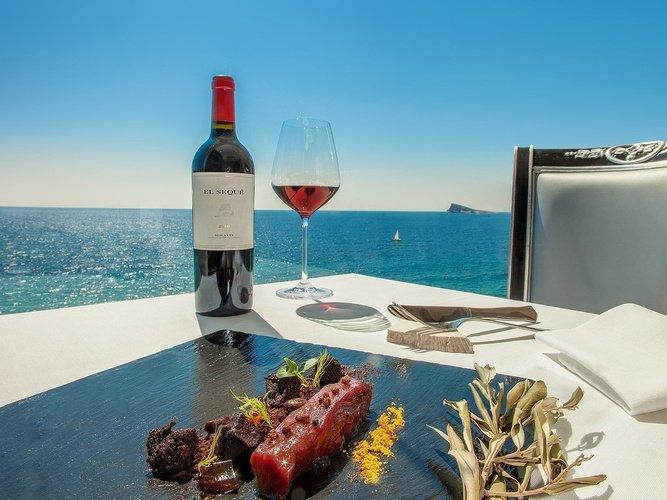 Gastronomie hôtel villa venecia boutique benidorm