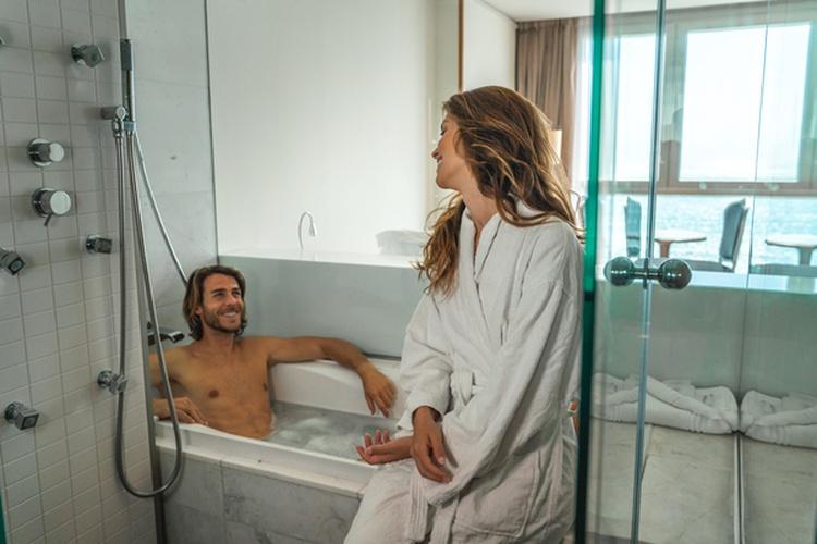 Salle de bains hôtel villa venecia boutique benidorm