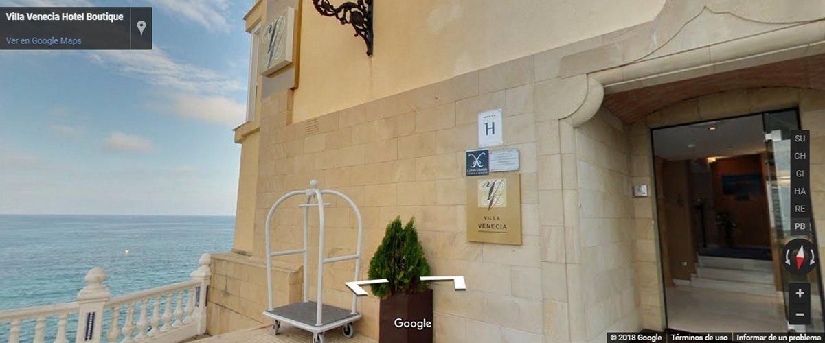 visite virtuelle Villa Venecia Boutique Benidorm